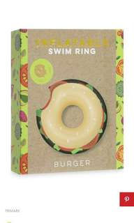 Giant Burger Ring Float