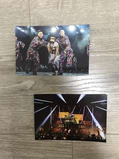 Big Bang Official Postcards