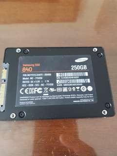 Samsung EVO840 SSD 250 GB