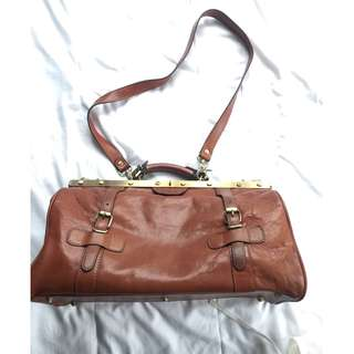 Doctor bag leather 100 italian made buy in florence