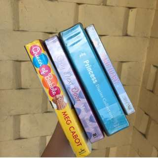 🔅Princess Diaries collection 🔅Sanctuary 🔅Queen of Babble 🔅The Guy Next Door | Meg Cabot