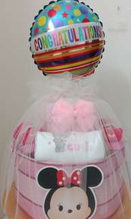 Diaper cake for baby full moon or 100days celebration