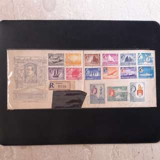 Singapore Malaya 1955 First Day Cover