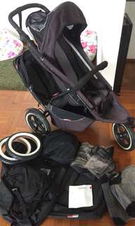 Phil and teds double buggy bundle