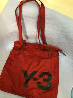 100% real 30%new Y-3 雙面袋