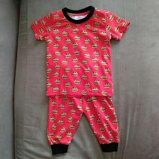 High Quality Cute Cotton Pyjamas (Burgers)