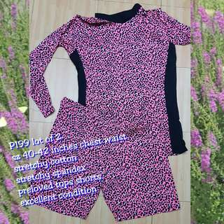 Lot of 2 plus size tops