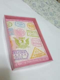 Cute passport holder (Madam Tussauds)