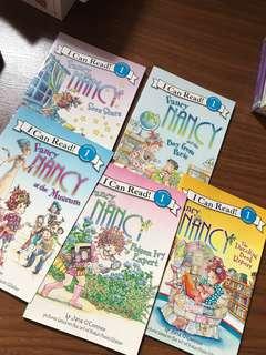 Set of 5 Fancy Nancy I Can Read! Level 1 Readers (Fancy Nancy)