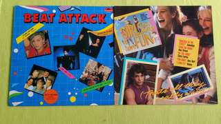 GIRL  JUST WANT TO HAVE FUN ● BEAT ATTACK (Rare)  . ( buy 1 get 1 free )  vinyl record