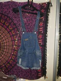 Jeans overall short