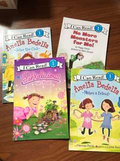 Set of 4 I Can Read! Level 1 Readers