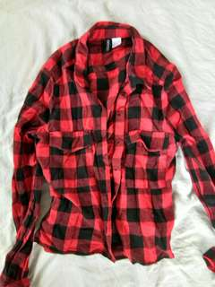 H&M Plaid Flannel