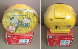 ** 分享 ** Sanrio Hello Kitty 1976 年 (Citizen 星晨) 鬧鐘 (Made in Japan)