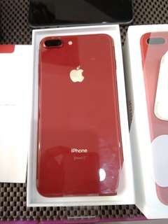 IPhone 8 plus 64gb red edition mulus New