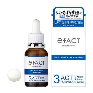Brand new Efact skin serum white medicated