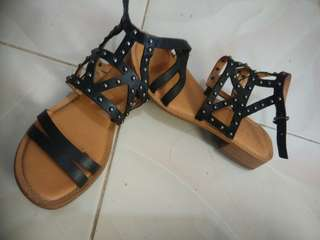 Sarto Alyssa Studded Sandals