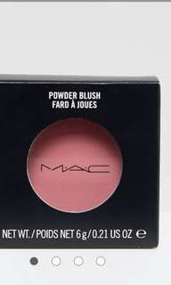 Two MAC blusher expire in 2020