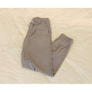 GU 休閒 縮口褲 休閒 西裝 材質 m號 Uniqlo