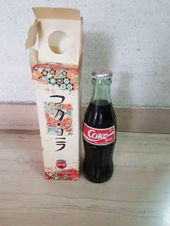 Coca Cola Coke Japan Bottle