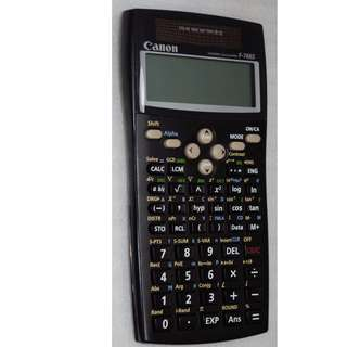 Canon F-766S Scientific (SOLAR) calculator