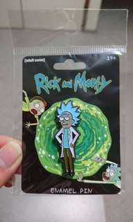 rick and morty pin tiny rick