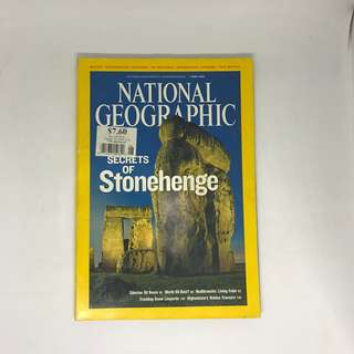 Secrets Of Stonehenge   National Geographic   Issue June 2008