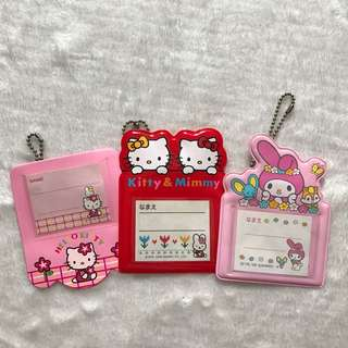 Sanrio Hello Kitty & My Melody Keychain