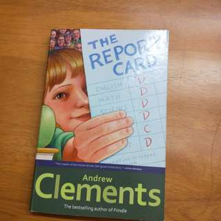 🚚 The report card 英文童書