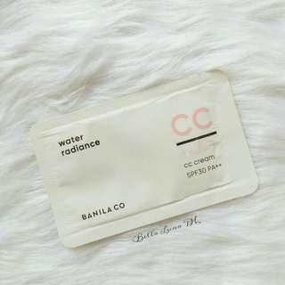 Banila Co. Water Radiance CC Cream Sampler