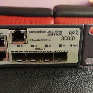 3com 2952 SFP Plus switch