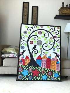 Painting- Mandala dots