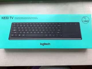 Logitech K830TV illuminated wireless keyboard