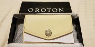 Authentic Oroton Melanie High Fold Wallet