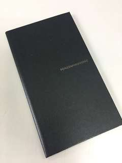 [搬屋出清] Peaceminusone Notebook 黑色