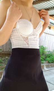 Size 6/B-C cup Bustier