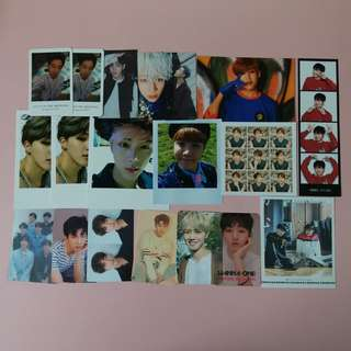 [CLEARANCE/ BUY 3 FREE 1] BTS WANNA ONE GOT7 MONSTA X IKON MXM POSTCARD PHOTOCARD