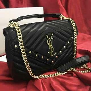 YSL Gold Chain Slightly Sling Bag