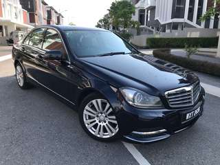 Mercedes C200 Like new 1 owner Low milge service record