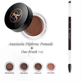 Anastasia Beverly Hills Dipbrow Pomade + Brush
