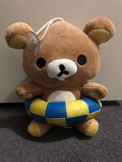 Rilakkuma suction cup floatie toy
