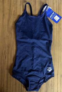 BNWT ARENA one piece swimsuit - Navy Blue (Small)