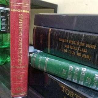 STATUTORY CONSTRUCTION by Ruben E. Agpalo 2009(6th ed)