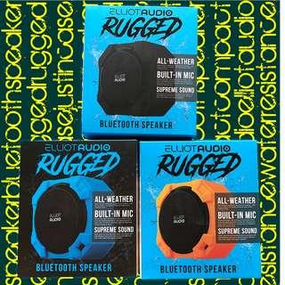 Elliot Audio Rugged Bluetooth Speaker (Water Resistance)