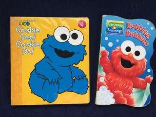 Sesame Street Beginnings books for young children