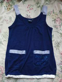 Disney Navy Blue Tank Top