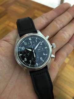 IWC Pilot Chronograph 3717 Discontinued Model