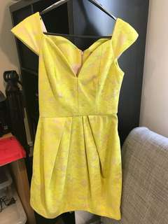 Neon Yellow ASOS Summer Dress