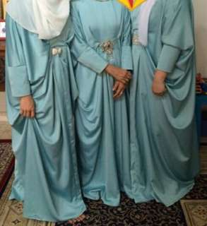 Kaftan soft blue