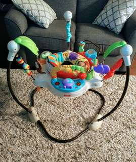 fisher price jumperoo with box